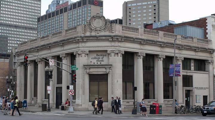 伯克利音樂學院---美國波士頓的現代音樂學院