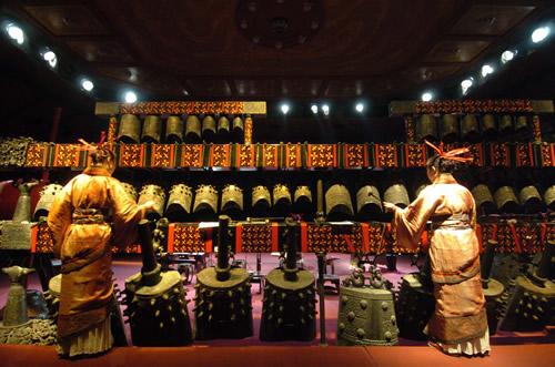 教你认识中国古典乐器编钟