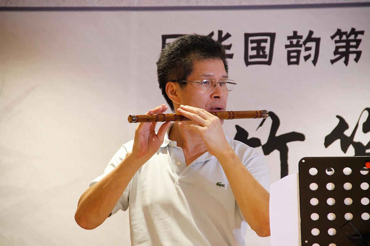 古老的中国乐器——竹笛
