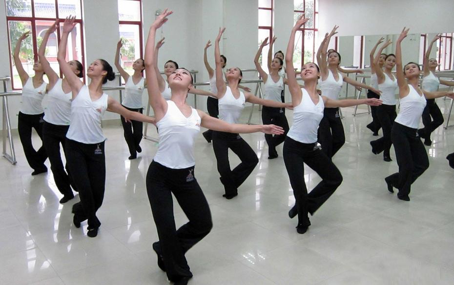 形體和舞蹈是有區別的