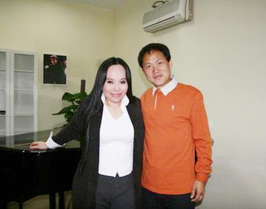 国际音乐大师莫华伦来访北京国韵之音