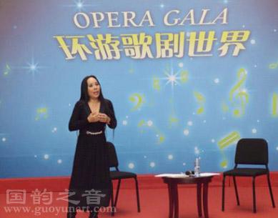 北京国韵之音教育中心校长孙秀苇国家大剧院访谈会