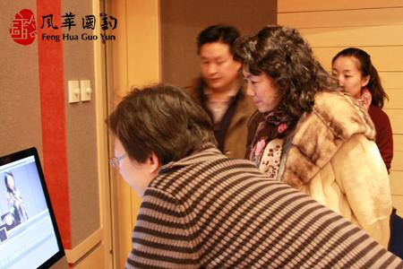 中国音乐学院声歌系系主任马秋华教授莅临指导