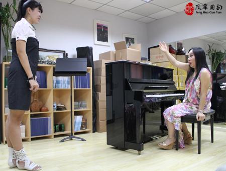 第三届孙秀苇&Roumen国际声乐大师班7月17日课堂花絮