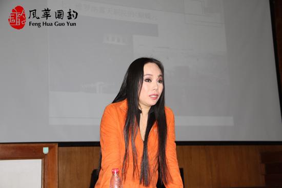 国韵校长孙秀苇携音乐高考班全体教师召开会议