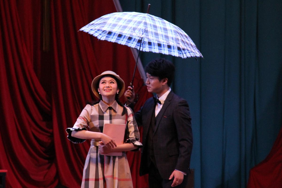 著名男高音歌唱家周强携弟子走进公大 师生同台比拼歌剧