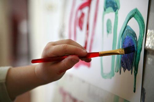 不同年龄段的孩子画也不同