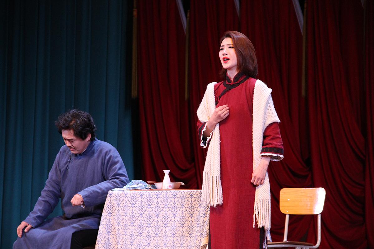 中国经典歌剧《伤逝》走进公大 歌剧艺术大受欢迎