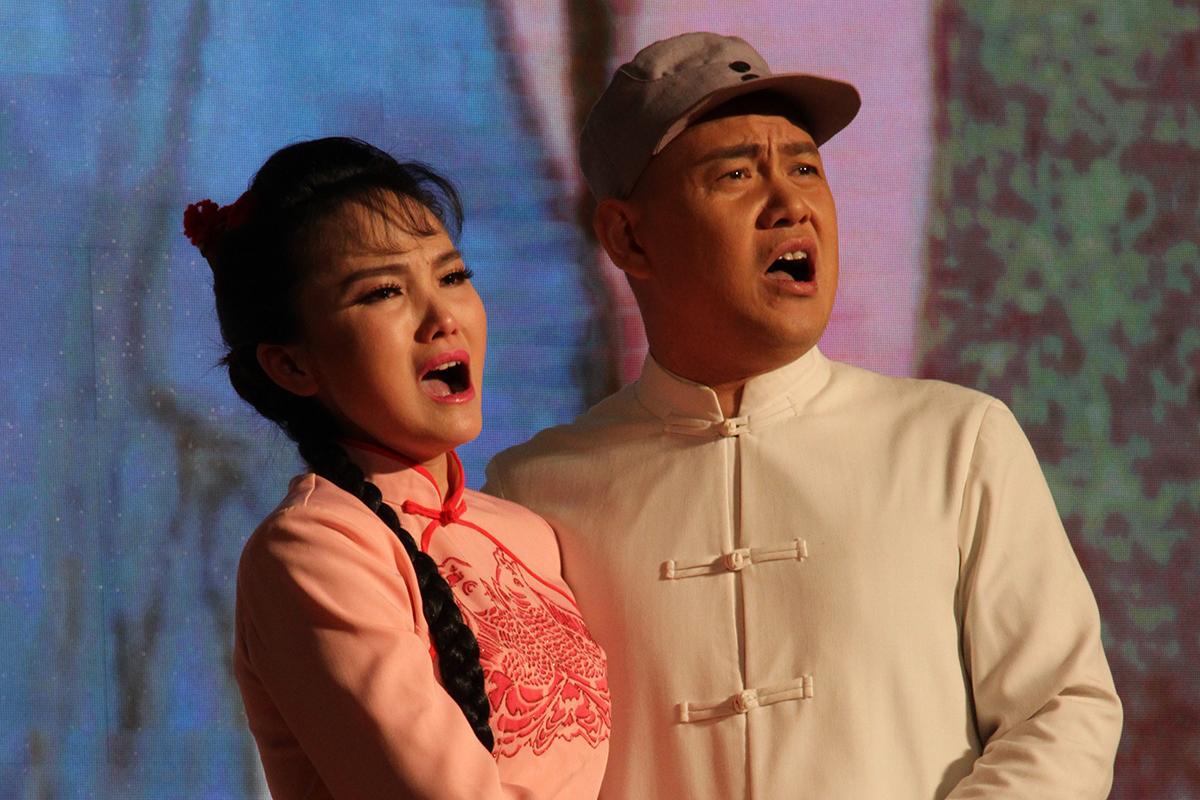 著名男高音周强携弟子走进北理工 师生同台演绎歌剧《小二黑结婚》