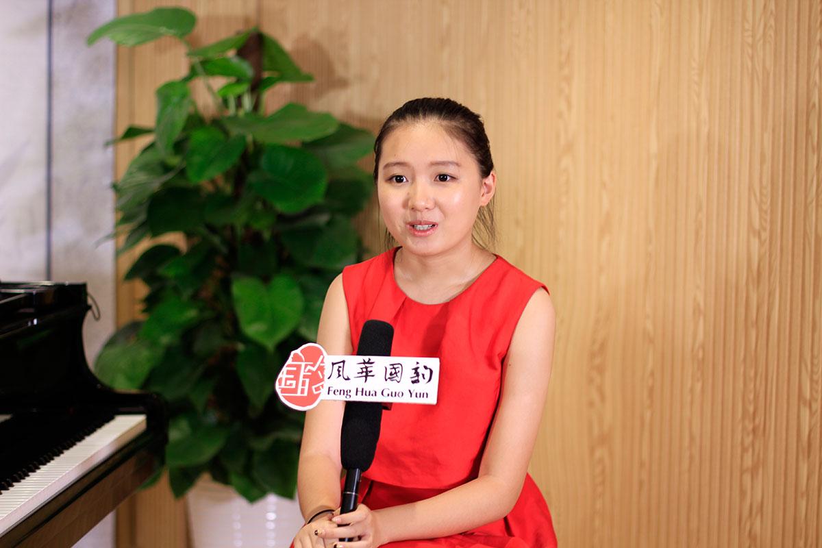 風華國韻2016屆優秀學員周紫璇回母校分享考試經驗和感悟