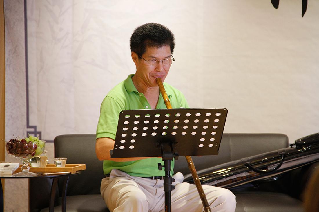 中國音樂學院國樂系教授張維良再度蒞臨風華國韻 對全新教學環境給與高度評價