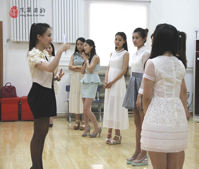 中国音乐学院青年教授李琳老师来风华国韵排练音乐剧