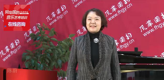 中国音乐学院表演系主任著名音乐剧导演陈蔚在风华国韵拍摄宣传片