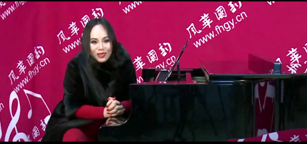 世界著名女高音北大歌劇院教授孫秀葦蒞臨風華國韻拍攝宣傳片