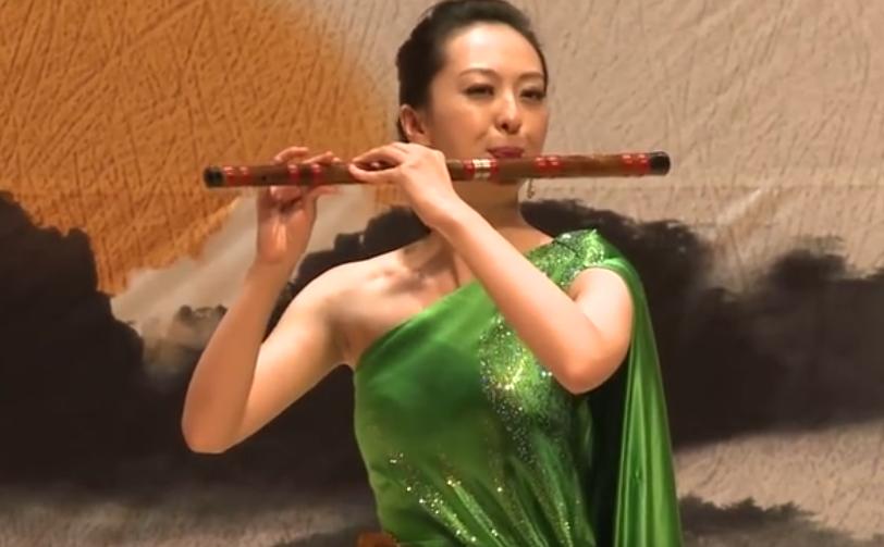 器乐 笛子独奏《回忆》1