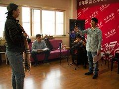 《伤逝》学员在快乐中排演歌剧