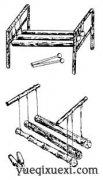 中国民族乐器——木棍琴