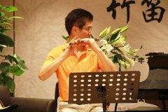 张维良竹笛与萧大师班正式开课