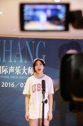 音樂專業優秀學員在風華國韻排練廳進行聲樂匯報