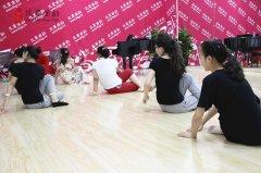 风华国韵形体舞蹈课堂