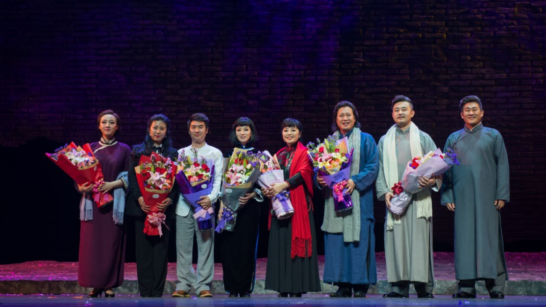 重温经典   经典歌剧《伤逝》2018年首演即将开始,演员紧张排练中