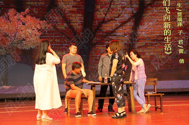 风华国韵学子表演现场,同学们都很棒!